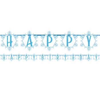 guirlande anniversaire reine des neiges pas cher en suisse