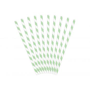 Pailles vert menthe en Suisse décoration de fête pas cher