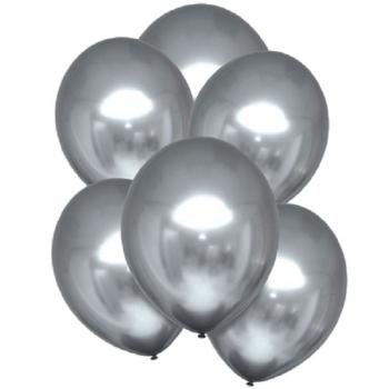 ballons chromes satin platine en suisse