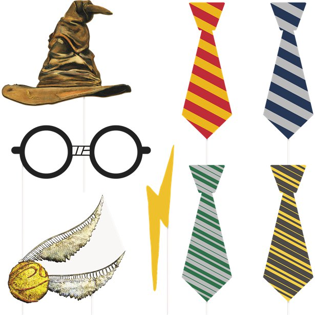 accessoires photobooth harry potter