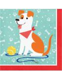 serviettes a theme chiens pas cher en suisse