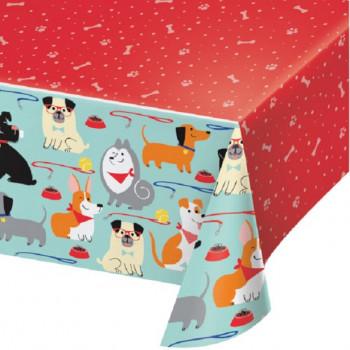 nappe d'anniversaire theme chiens en suisse