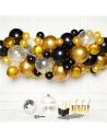arche de ballons or et noir en suisse
