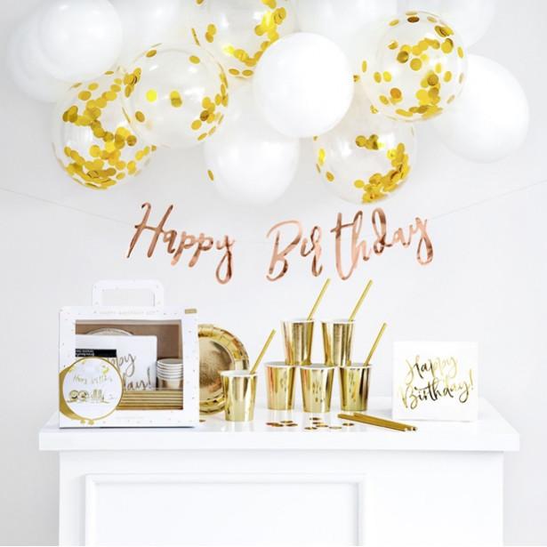 box d'anniversaire doré en suisse