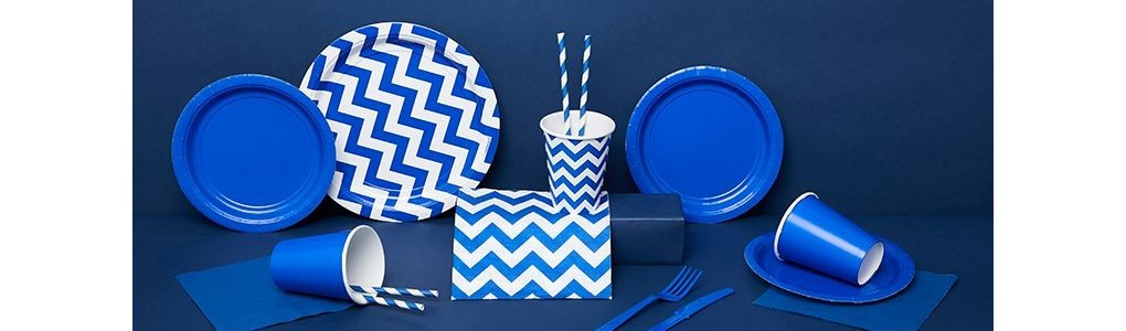 """Bellefete * Deco par couleur """"Bleu royal"""" * Genève - Lausanne - Suisse"""