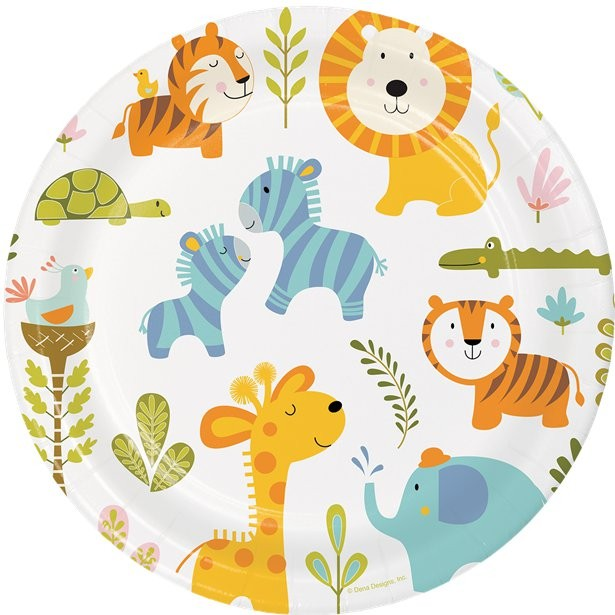 "Baby Shower ""Animaux de la Jungle"""